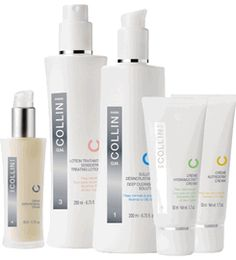 G.M. Collin Skin Care Products--about all this pale girl can use any more!  Worth the $$!