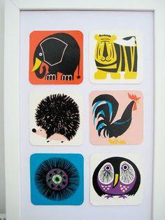60s Galt Snap Cards