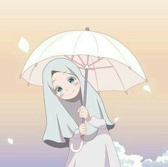 @ # off # cute # girl, # scarf is central to the bit in the outfits of fe Muslim Pictures, Muslim Images, Islamic Pictures, Hijab Anime, Anime Muslim, Girl Cartoon, Cartoon Art, Islamic Wallpaper Hd, Hijab Drawing