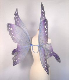 Grey fairy wings. I already have the perfect dress in my renn faire hope chest to match this!