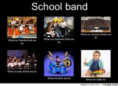 Funny memes for kids high schools 53 Ideas for 2019 Funny Band Memes, New Funny Memes, Kid Memes, Choir Memes, Funny Quotes, Band Nerd, Band Puns, West High School, High School Memes