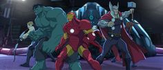 #Animated Marvel Cinematic Universe Project in the Works  - The Marvel Cinematic Universe is already dominating at the box office and kicking ass on the small screen, and this weekend they'll push into streaming with Netflix's Daredevil. Now the next realm they're looking to conquer could be #animation. @veetildigital