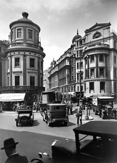 King William IV Street and Charing Cross Hospital from Strand
