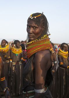 "https://flic.kr/p/sA66XN   Turkana Tribe Woman, Turkana Lake, Loiyangalani, Kenya   © Eric Lafforgue <a href=""http://www.ericlafforgue.com"" rel=""nofollow"">www.ericlafforgue.com</a>"