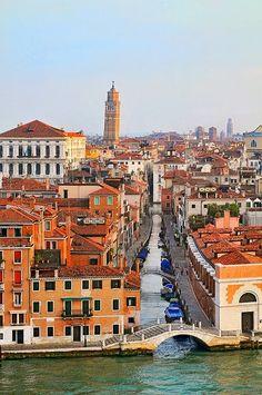 Canales de Venecia, Italia ~ Blogger Pixz