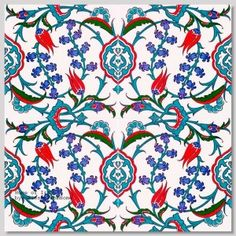 """2002  - Tile Collections by """"Home of Iznik"""" Gorgeous tiles for flooring, backsplash, wall accent, countertops, powder room, bathroom, etc."""