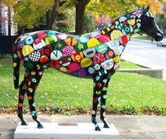 Kentucky Horsemania horses in Lexington