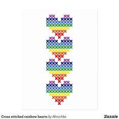 Tiny Cross Stitch, Cross Stitch Letters, Cross Stitch Bookmarks, Cross Stitch Heart, Cross Stitch Cards, Beaded Cross Stitch, Cross Stitch Borders, Cross Stitch Flowers, Cross Stitching