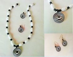 Quilled Necklace By Anjali Vinod http://kadalaspoov.blogspot.in/ littlebeads.in