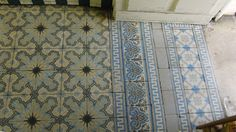 Cement tiles/ Zementfliesen/ mosaicos hidráulicos