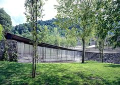 Key projects by Pritzker Prize 2017 winner RCR Arquitectes: Les Cols Restaurant Marquee, Olot, Girona, Spain Contemporary Architecture, Landscape Architecture, Landscape Design, Architecture Design, Spanish Architecture, Amazing Architecture, Parque Natural, Key Projects, Architect Magazine