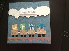 You choo choo choose me handmade Birthday Card for Boy £1.20