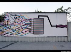 Multipraktik Collective Creates Awesome Murals Out Of Tape