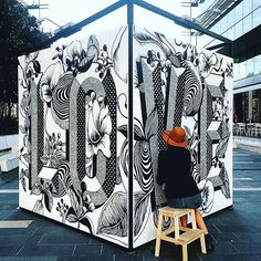 LETTERING WALL... - Gemma O'Brien installation #gemmaobrien #letteringdesign