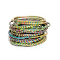 Flip Flop Bracelets – Multicolour available on www.star-fish.nl/shop Legendary Design from Africa