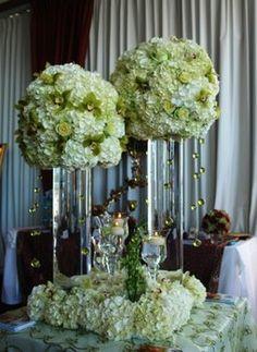 Wedding, Flowers, Reception, Cake, Centerpiece, Ceremony, Bridesmaids, Gold