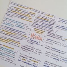 Cute Notes//Purple//Yellow//Blue//Orange