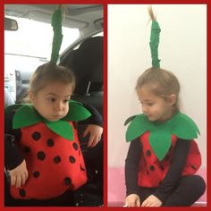 Strawberry Girl Costume