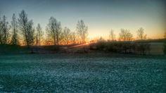 Solnedgång över Ärsta, Runtuna Nyköping