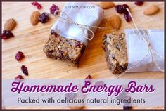 Homemade Energy Bars - A Natural Granola Bar Recipe For Active People – These homemade energy bars are a great all-natural solution for folks looking for hardy, energy-boosting granola bars they can make at home and take on the go