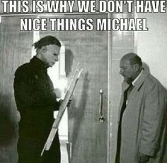 funny michael myers  pics | Michael Myers humor! Loll
