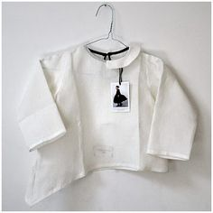 Asymmetric linen shirt