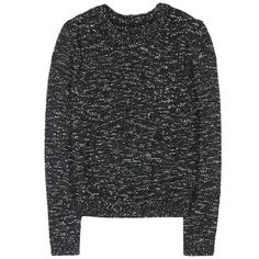 Alice + Olivia Inka Bouclé Pullover (€135) ❤ liked on Polyvore featuring tops, sweaters, shirts, jumpers, chunky knit sweater, boucle sweater, sequin jumper, shiny shirt and polish shirts