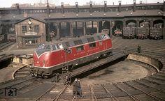Железные дороги послевоенной Германии на снимках Вальтера Холльнагеля