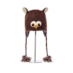 Handmade! Wool Knitwits Deluxe Owl hat Excellent condition, only worn once! Super adorable knit owl hat by Knitwits! Would make the perfect gift for any owl lover. :) Knitwits Accessories Hats