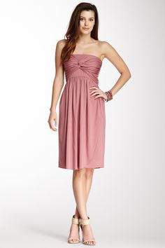Lionel Strapless Dress on HauteLook. Not crazy about the color, but the style is cute