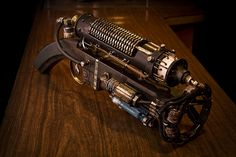 Reliquary Emission Projector #Steampunk #Gun www.steampunktendencies.com