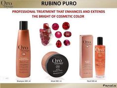 Review: Rubino Puro Oro Therapy Haircare Collection Coloured Hair, Hair Care, Shampoo, Therapy, Lipstick, Cosmetics, Beauty, Collection, Color