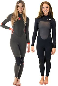 canoeing - 3 2mm Womens Billabong SYNERGY Full Wetsuit in Black 8. Look into 4200d66f1