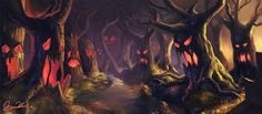 "OMG!! LOVE THIS!!! ""The Haunted Forest"""
