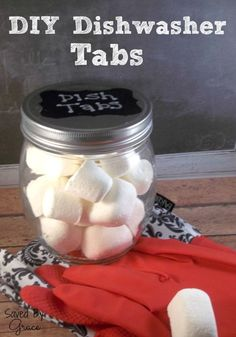 I've done homemade before and not found a recipe that I like.  I'll be curious to try this one.  :)  DIY Dish Tabs - Saved By Grace