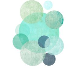 Minimalist Art Print, Geometric Wall Art, Circles Print, Blue Abstract... ($11) ❤ liked on Polyvore featuring home, home decor, wall art, backgrounds, borders, circle, circular, filler, picture frame and round