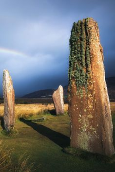 Machrie Moor Standing Stones, Isle of Arran, Scotland by Ian Cylkowski. #landscape #nature #travel #arran #isleofarran