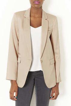 bottledwaternom's save of Boyfriend Shimmer Blazer - Jackets - Clothing on Wanelo