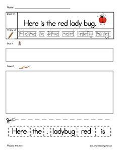 read, write, sentence structure, punctuation, art