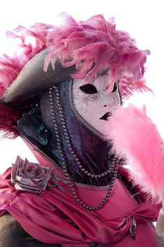 Carnivale mask & costume ~ 14385 - ID: 7948596 © Jim  Zuckerman
