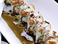 Bara Sushi @ Briargate.....YUMM!!  If you visit their website, you can print a coupon for 15% off!!