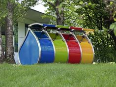 recycling bin for waste separation for public spaces PATTUMINA METALSISTEM