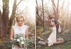 Forest Bridals {Caroline + Landon} | utahbrideblog.com