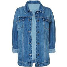 Boyfriend denim jacket for women