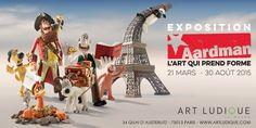 EXPOSITION AARDMAN, L'art qui prend forme -  Art Ludique, Le Musée - Du Samedi 21 mars 2015 au dimanche 30 août 2015