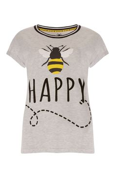 Grey Bee T-Shirt