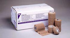 Coban Self-Adherent Wrap 2 x5 Yd Bx/36 Tan Latex Free N/S