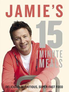 Jamie's 15 Minute Malzeiten - tolle Videos auch auf seinem Youtube Kanal http://www.youtube.com/jamieoliver
