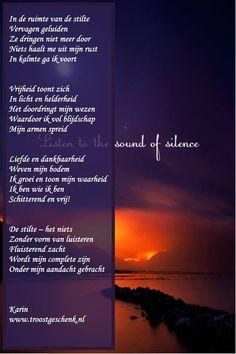 In de ruimte van de stilte