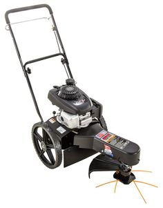 Swisher Trim Max Straight Shaft Gas String Trimmer with Edger Capable at Lowe's. The Swisher deluxe string trimmer is an ideal back-saving alternative to heavy handheld gas trimmers. This trimmer features a Honda engine. Walk Behind, Lawn Care, Lawn Mower, Home Depot, Outdoor Power Equipment, Baby Strollers, Honda, Cycling, Engineering